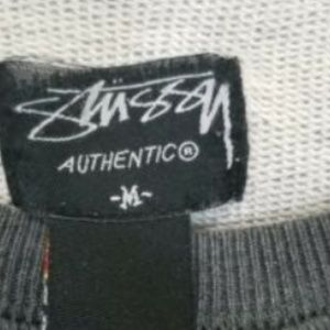 Stussy Sweaters - Stussy Authentic Mens Gray Crewneck Sweater size M